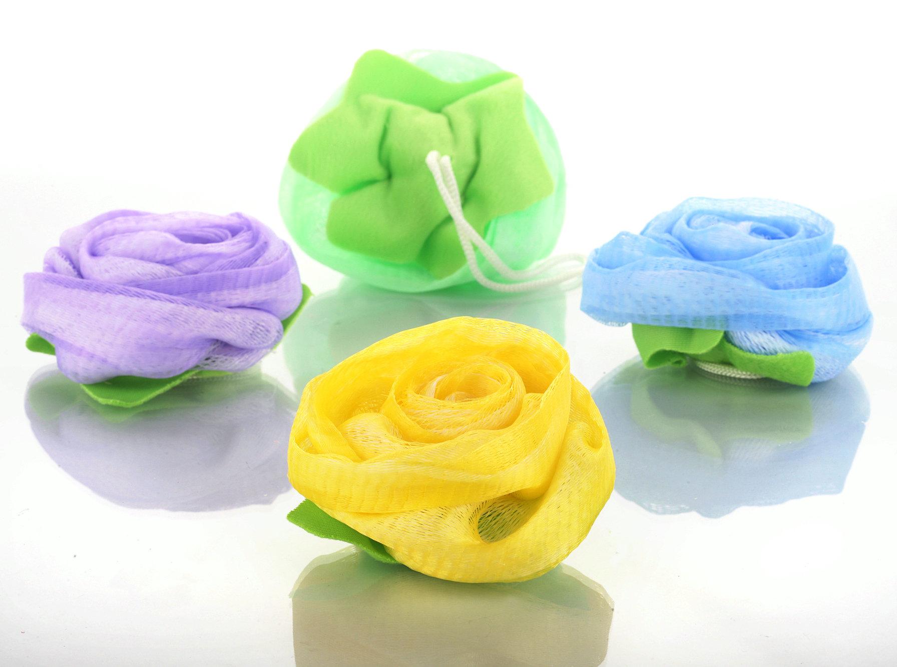 Как сделать розу из губки